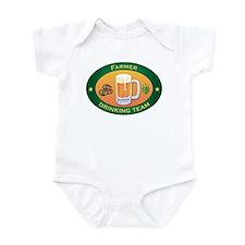 Farmer Team Infant Bodysuit