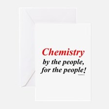 Chemistry People Greeting Cards (Pk of 10)