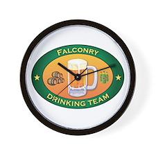 Falconry Team Wall Clock