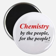 Chemistry People Magnet