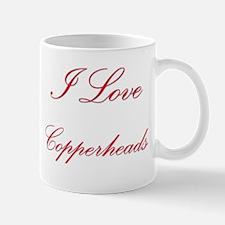 I Love Copperheads Mug