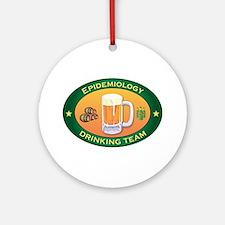 Epidemiology Team Ornament (Round)
