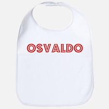 Retro Osvaldo (Red) Bib