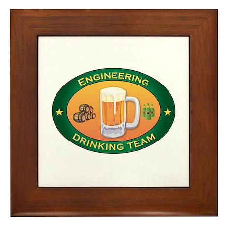 Engineering Team Framed Tile