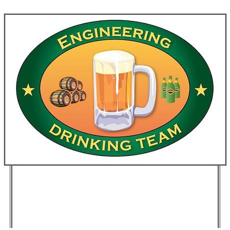 Engineering Team Yard Sign