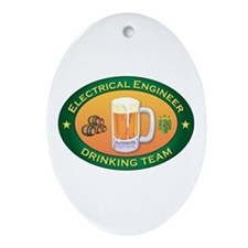 Electrical Engineer Team Oval Ornament