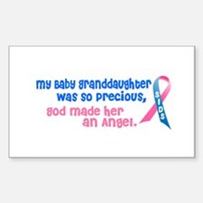 SIDS Angel 1 (Baby Granddaughter) Decal