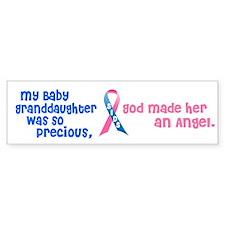 SIDS Angel 1 (Baby Granddaughter) Bumper Bumper Sticker