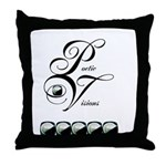 LE FEMININ PV Throw Pillow