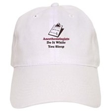 Funny Anesthesiologist Baseball Cap