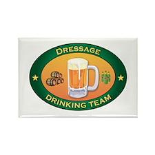 Dressage Team Rectangle Magnet (100 pack)