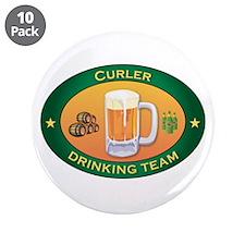 "Curler Team 3.5"" Button (10 pack)"