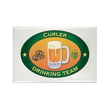 Curler Team Rectangle Magnet (10 pack)