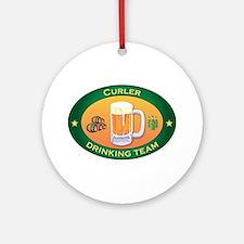 Curler Team Ornament (Round)
