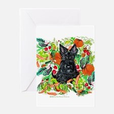 Eco Friendly Scottish Terrier Greeting Card