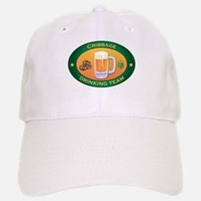 Cribbage Team Baseball Baseball Cap