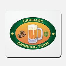 Cribbage Team Mousepad