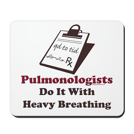 Funny Pulmologist Mousepad