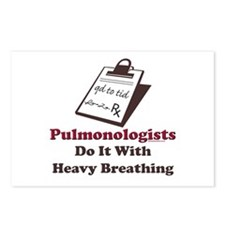 Funny Pulmologist Postcards (Package of 8)
