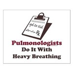 Funny Pulmologist Small Poster