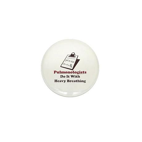 Funny Pulmologist Mini Button (10 pack)