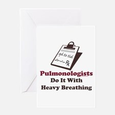 Funny Pulmologist Greeting Card