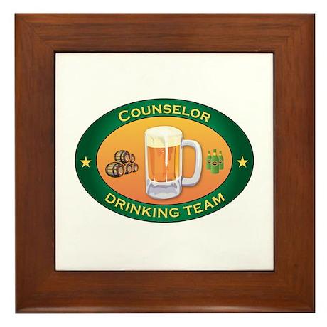 Counselor Team Framed Tile