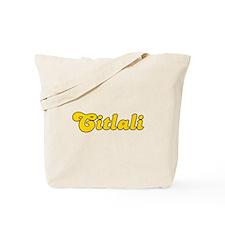 Retro Citlali (Gold) Tote Bag