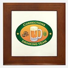 Corrections Team Framed Tile