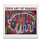 Tapir Mola Tile Coaster