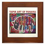 Tapir Mola Framed Tile