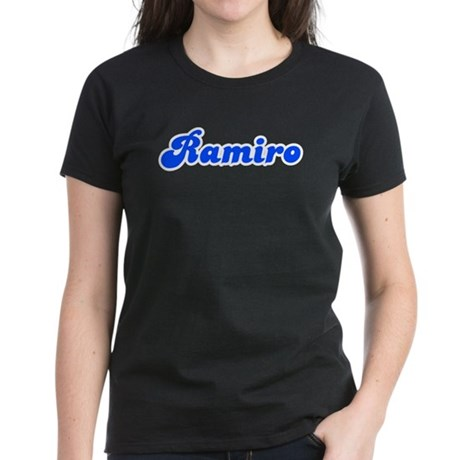 Retro Ramiro (Blue) Women's Dark T-Shirt