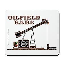 Oilfield Babe Mousepad