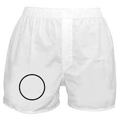 Circle Symbol Boxer Shorts