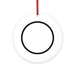 Circle Symbol Ornament (Round)