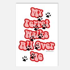 Ferret Walking Postcards (Package of 8)