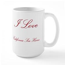 I Love California Sea Hares Mug