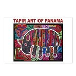 Tapir Mola Postcards (Package of 8)