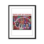 Tapir Mola Framed Panel Print