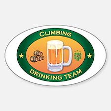 Climbing Team Oval Decal