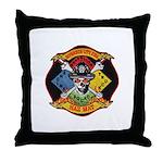 Riverside Hazmat Throw Pillow
