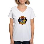 Riverside Hazmat Women's V-Neck T-Shirt