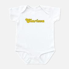 Retro Clarissa (Gold) Infant Bodysuit
