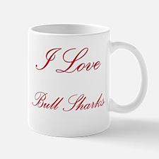 I Love Bull Sharks Mug