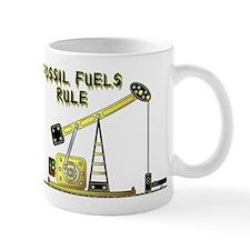 Fossil Fuels Rule Mug