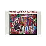 Tapir Mola Rectangle Magnet (100 pack)