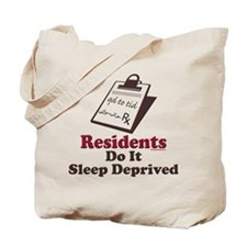 Funny Resident or Intern Tote Bag