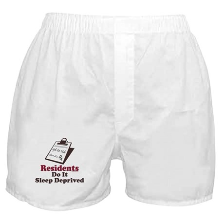 Funny Resident or Intern Boxer Shorts