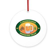 Cheesemaker Team Ornament (Round)