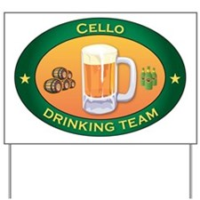 Cello Team Yard Sign